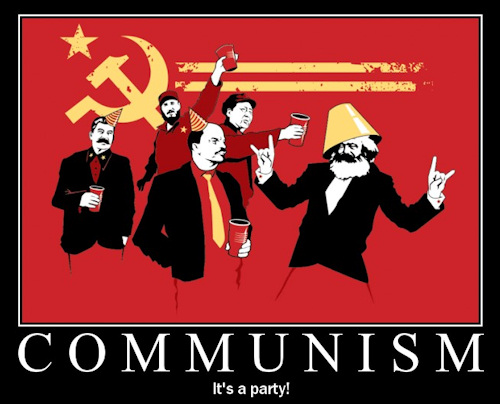 Communism : it&#039;s a party