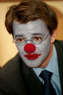 Baroin, clown triste