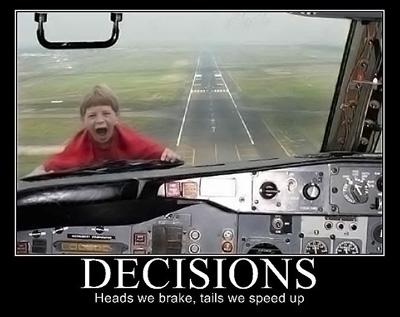 Vous avez l'autorisation d'atterrir.