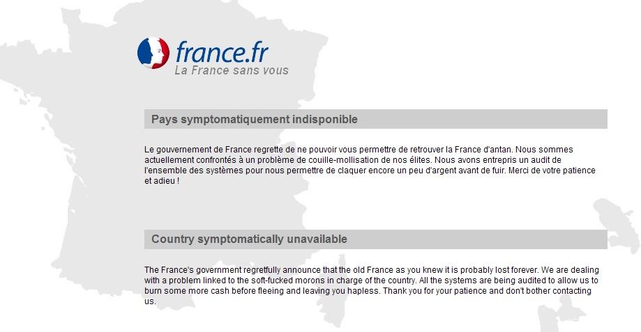 France.Fr le site à l'image du pays