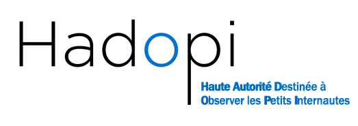 Logo HADOPI : haute autorit destine  observer les petits internautes