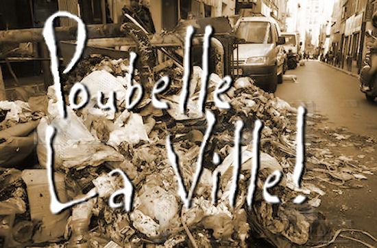 Marseille : poubelle, la ville !