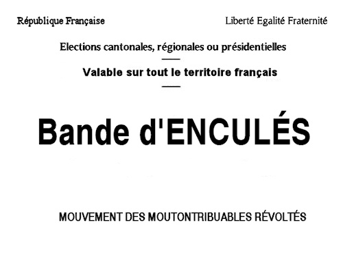 bulletin de vote idoine