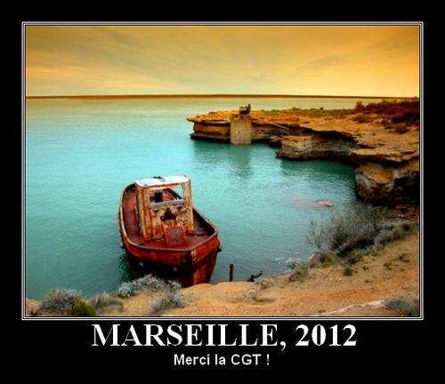 Port de Marseille en 2012 : merci la CGT