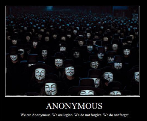 Anonymous : we do not forget, we do not forgive.