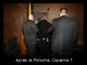 DSK menotté : après la Porsche, Cayenne ?