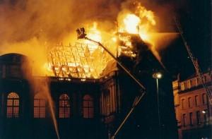 Le feu au Parlement de Bretagne