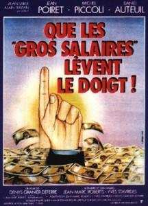 Que les gros salaires lèvent le doigt !