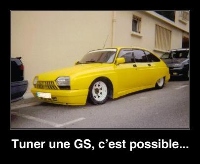 Tuner une GS, c'est possible !