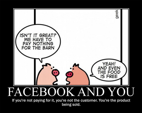 facebook : The Product Is You