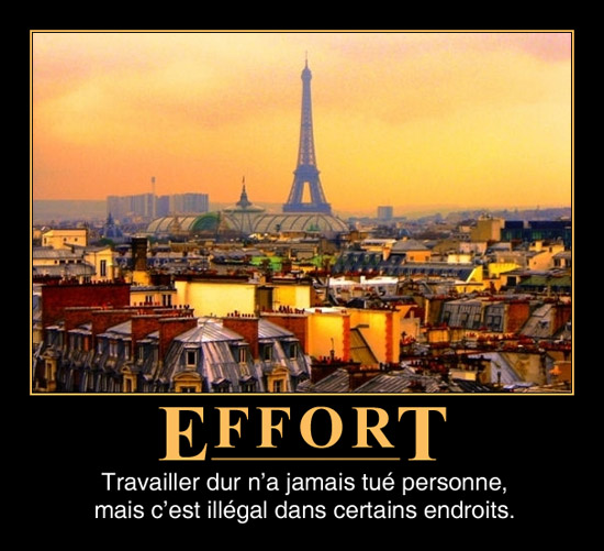 Les efforts n&#039;ont jamais tu personne, mais c&#039;est illgal  certains endroits