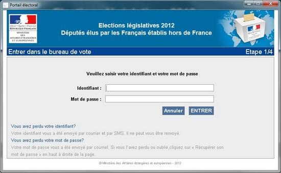 Vote électronique : étape 1