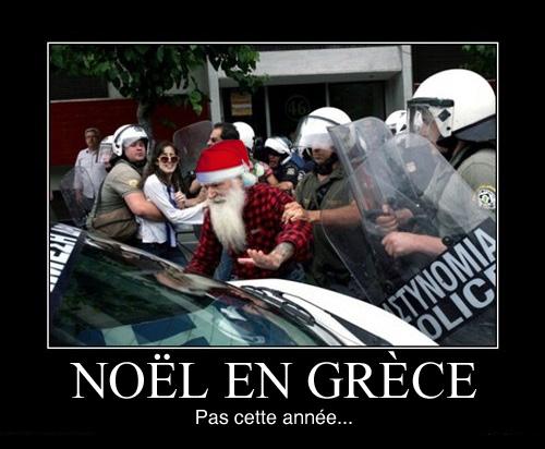 noel en grece : pas cette annee
