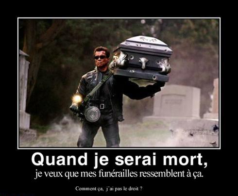 Funérailles agitées