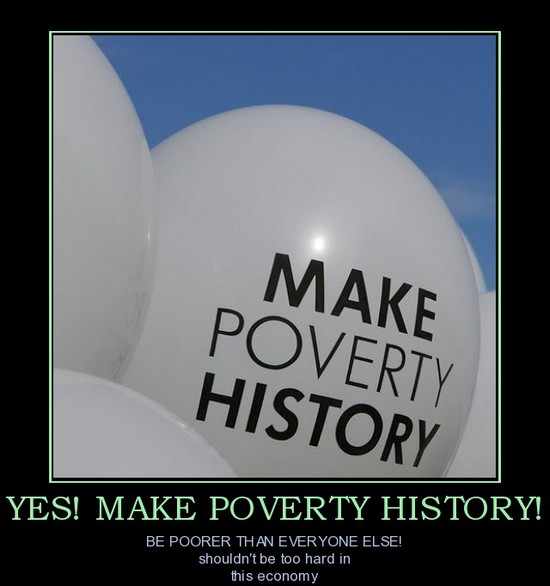 Make poverty history !