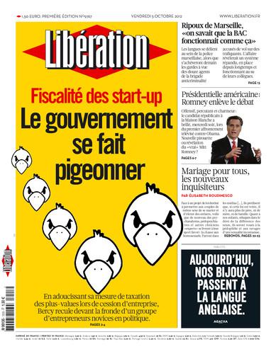 une liberation pigeons