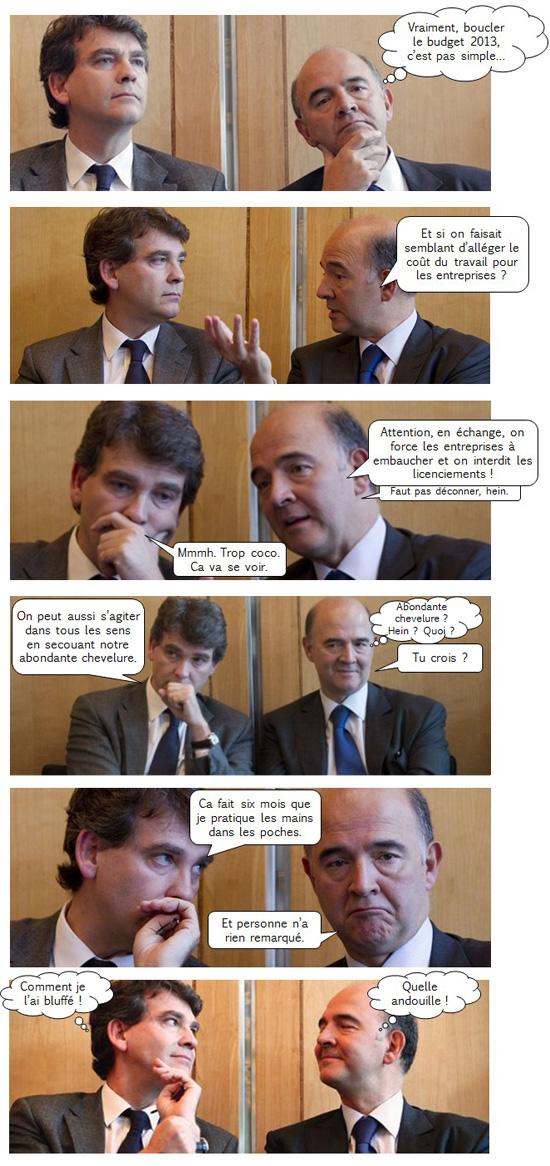 Pierre et arnaud font de l'économie : la BD