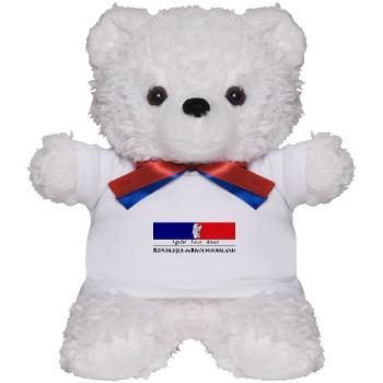 teddy bear République du Bisounoursland