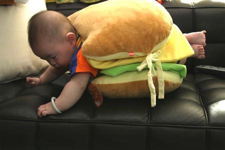 sandwich de bébé communiste