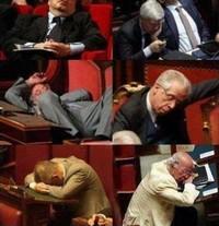 deputés endormis