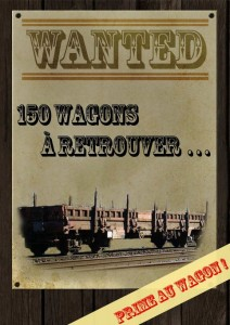 wanted : wagons de fret