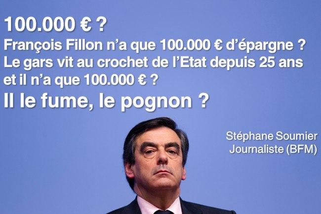 Le patrimoine de Fillon