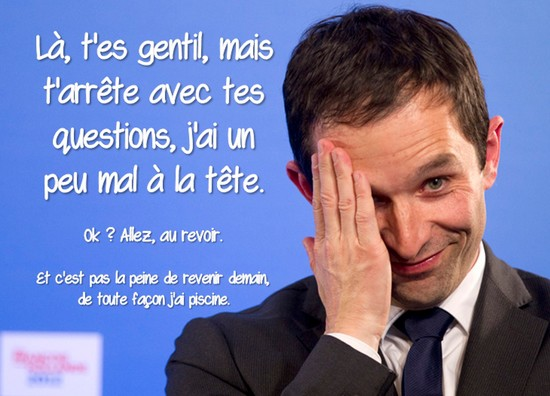 hamon facepalm