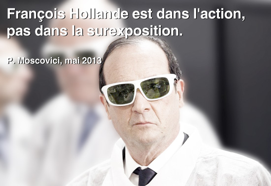 hollande dans l'action