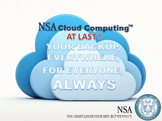 NSA backup