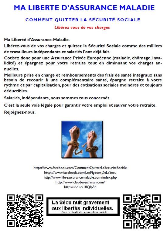 contribution - libre assurance