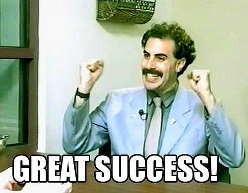 great success - Borat