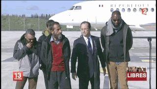 Hollande et les Otages