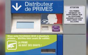 distributeur à primes