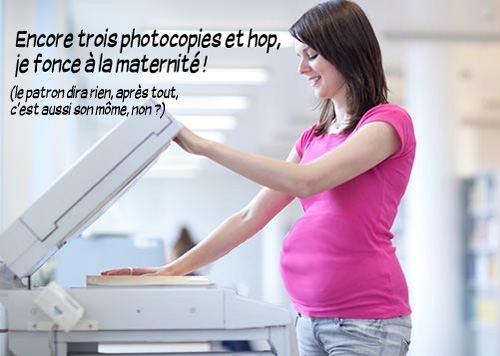 stagiaire enceinte