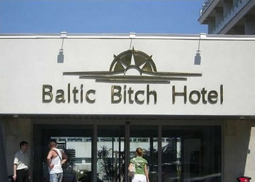 baltic bitch hotel