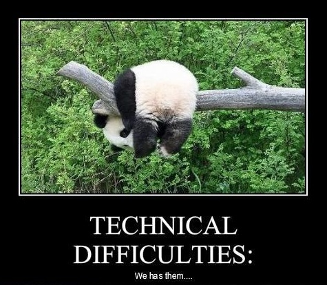 technical difficulties panda