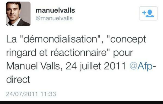 valls demondialisation