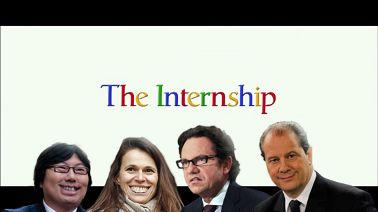 the internship - les stagiaires