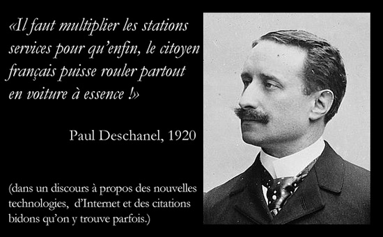 citation bidon de paul deschanel