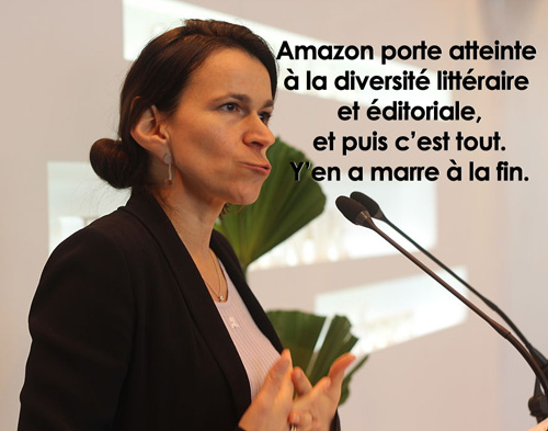 aurélie en a marre de amazon