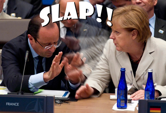 merkel slapbitch hollande