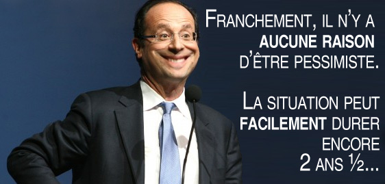 hollande optimiste