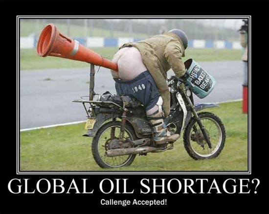 peak oil shortage