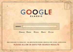 google vintage publicity