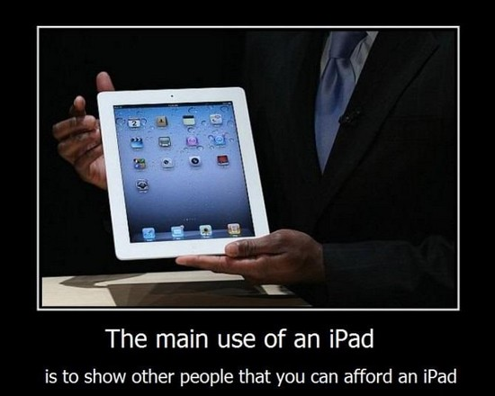 ipad demotivational