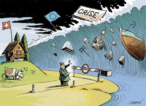 chapatte - crise suisse