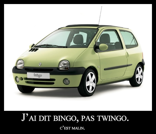 bingo pas twingo