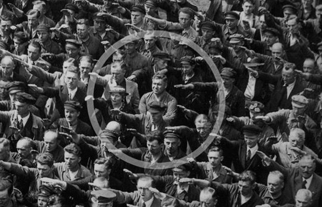 august landmesser refuses to perform nazi salute - photo public domain