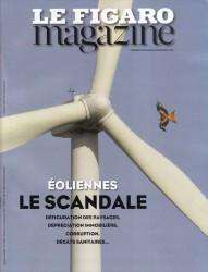 figaro magazine - éoliennes le scandale