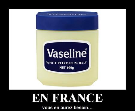 vaseline : en France, vous en aurez besoin